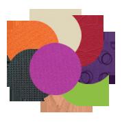 24 colours bright coloured furniture
