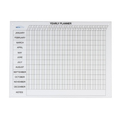 Magnetic Glass Year Planner