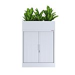 AusFile Tambour Cupboard with Planter Box