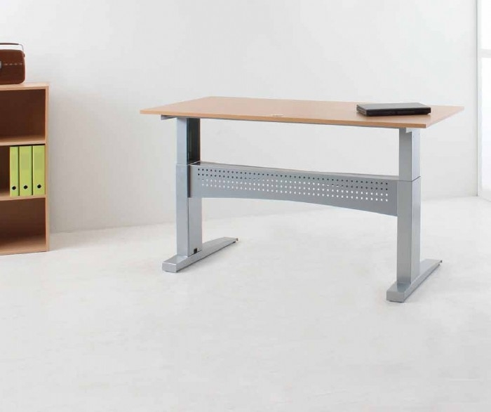 Heavy Duty Sit Stand Desk 150kg Capacity
