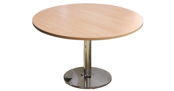 Verse Round Meeting Table Disc Base
