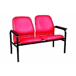 Ambassador Double & Triple Seater Arm Chair with PU arms