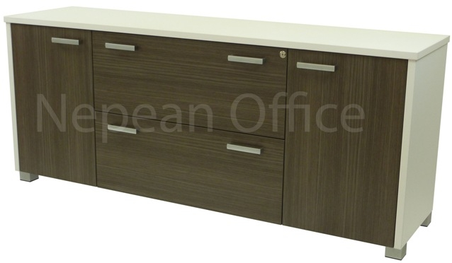 Lateral Filing Credenza 2 Doors & 2 Lateral Drawers