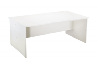 Large White Office Desk