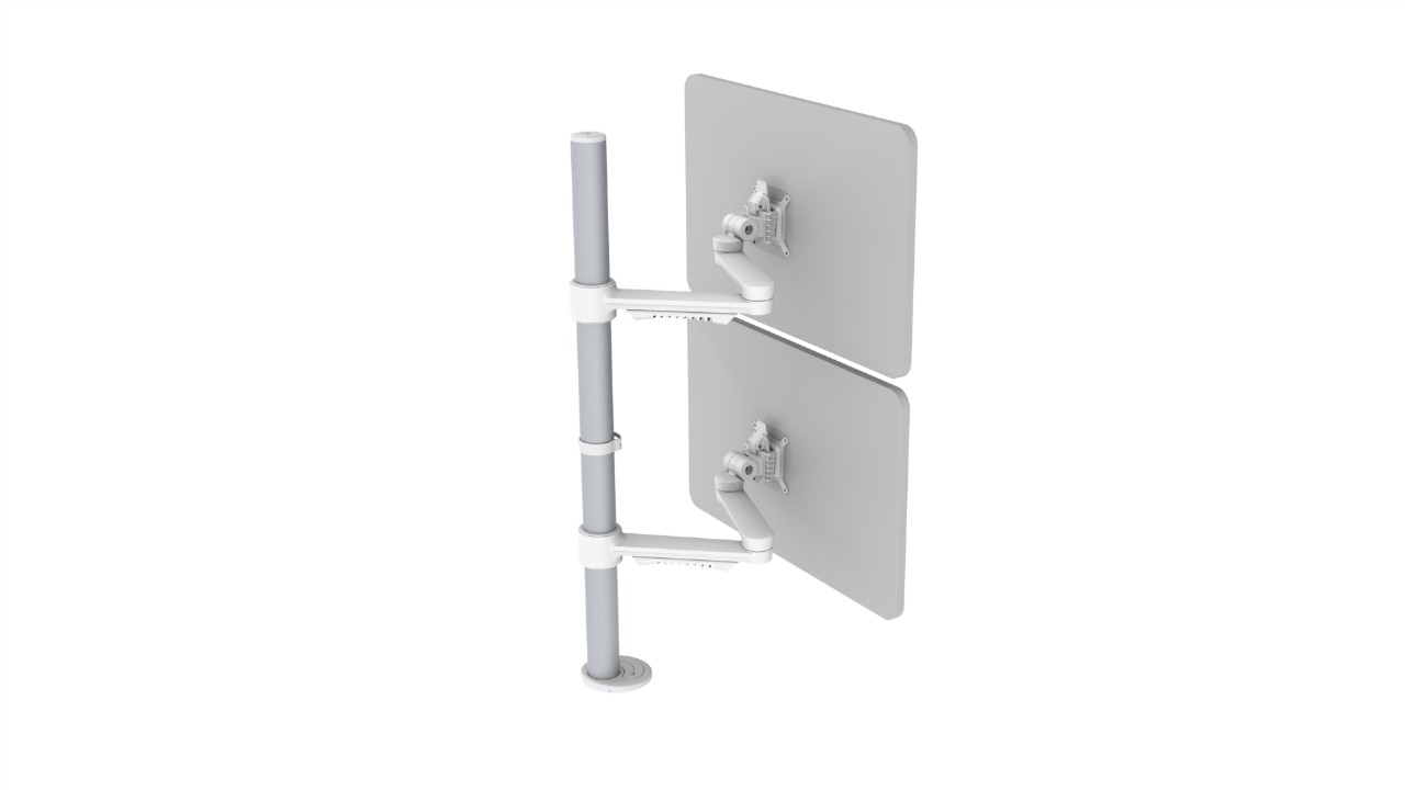 C.ME Vertical Double Monitor Arm