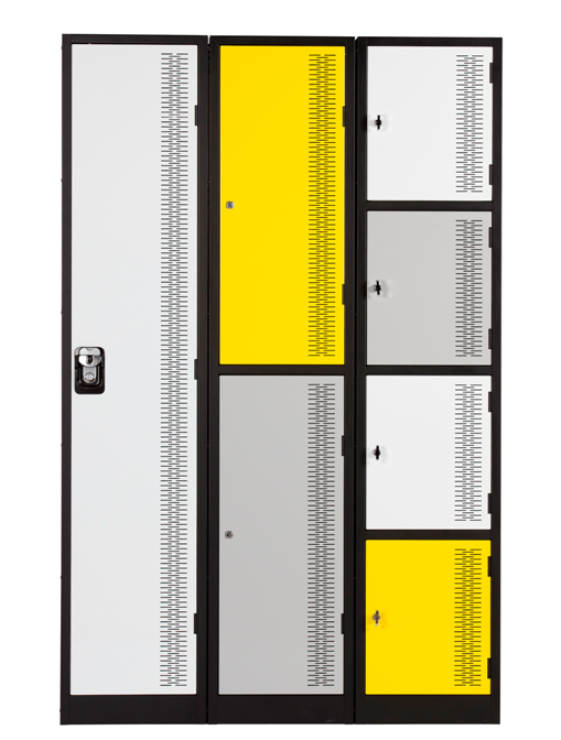 Coloured Contemporary Lockers