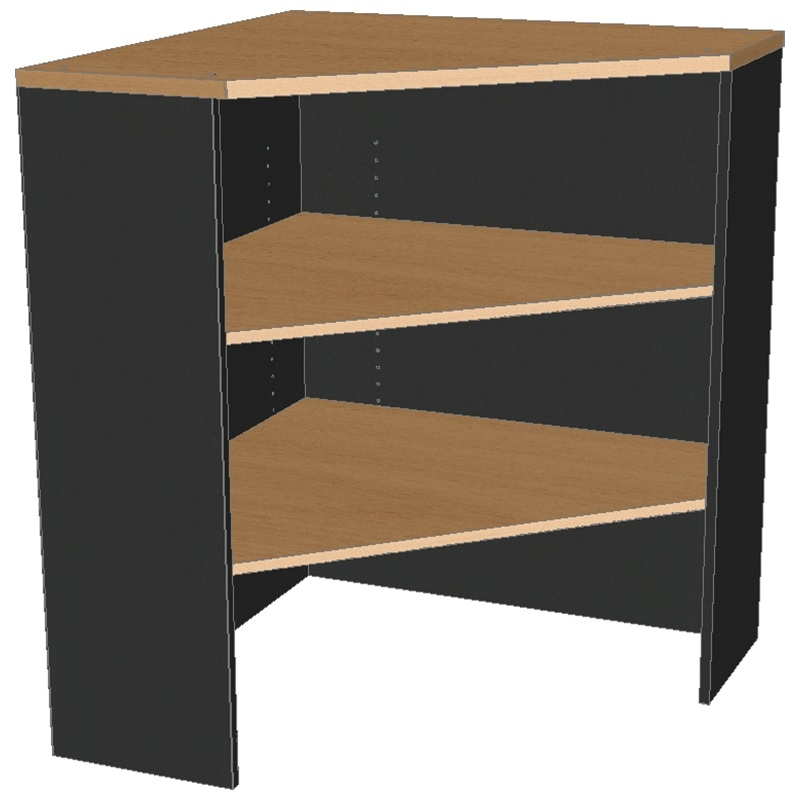 Corner Bookcase Hutch