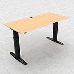 501-23 Heavy Duty Sit Stand Desk 175kg Capacity