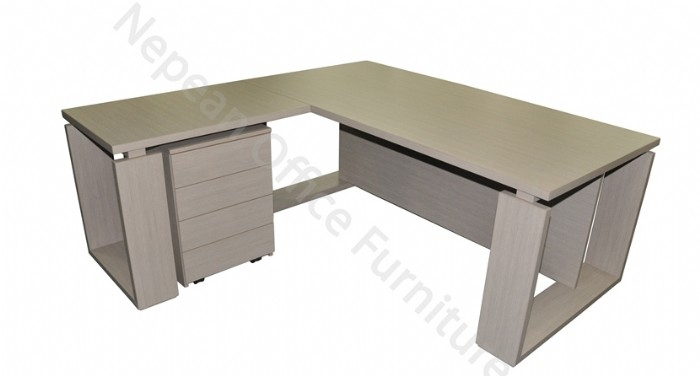 Designer U Desk and Return