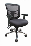 Dom Mesh Back Heavy Duty Chair 160kg