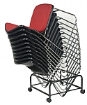 Focus Padded Stackable Chair