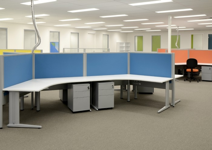 Coloured Office Screens