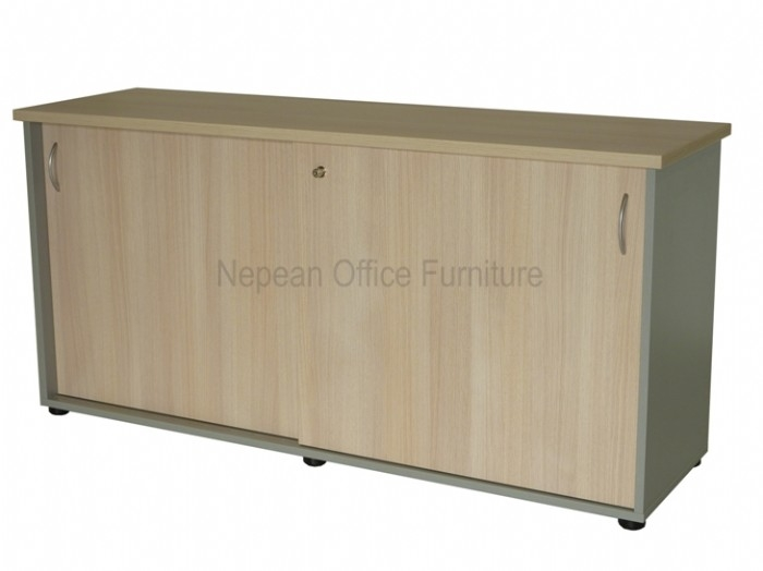 Commercial Range Sliding Door Credenza