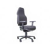 Flexi Plush High Back Touch Synchro Chair with Arms