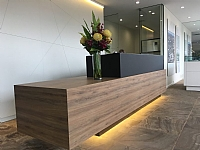 cool custom reception desk furniture | Custom Made Reception Desks | Reception Furniture | Our ...