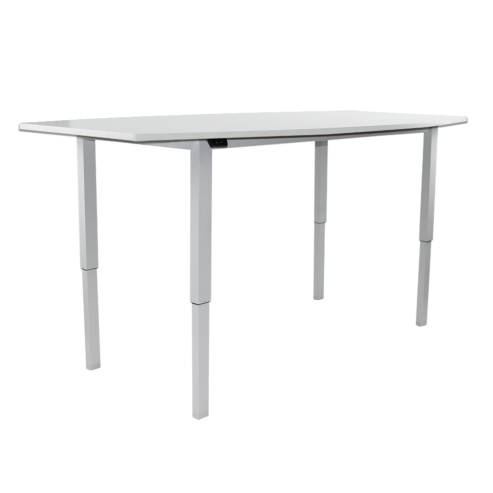 Talk It Up Electric Sit Stand Meeting table