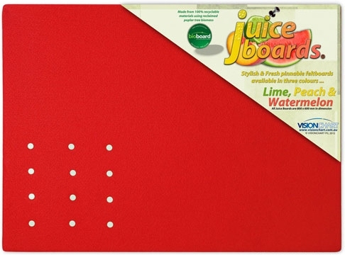 Bright Coloured Pinboards