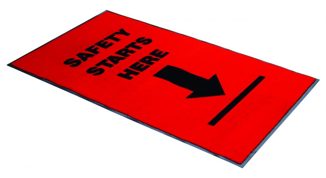 Safety Starts Here Mat