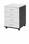 Logan Four Drawer Mobile