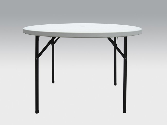 Plastic Round Folding Leg Table