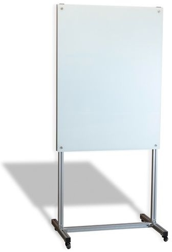 Mobile Magnetic Glassboard Stand