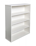 White Bookcase 1200mm High
