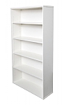 White Bookcase 1800mm High