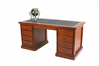 Partners Range Timber Veneer Desk