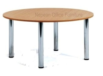 Round Conference Tables Post Legs