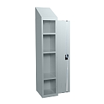 School Medium Height Locker with Sloping Top