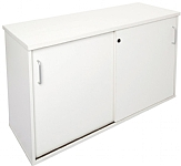 White 1200 Long Credenza