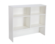 White 1200 Long  Hutch