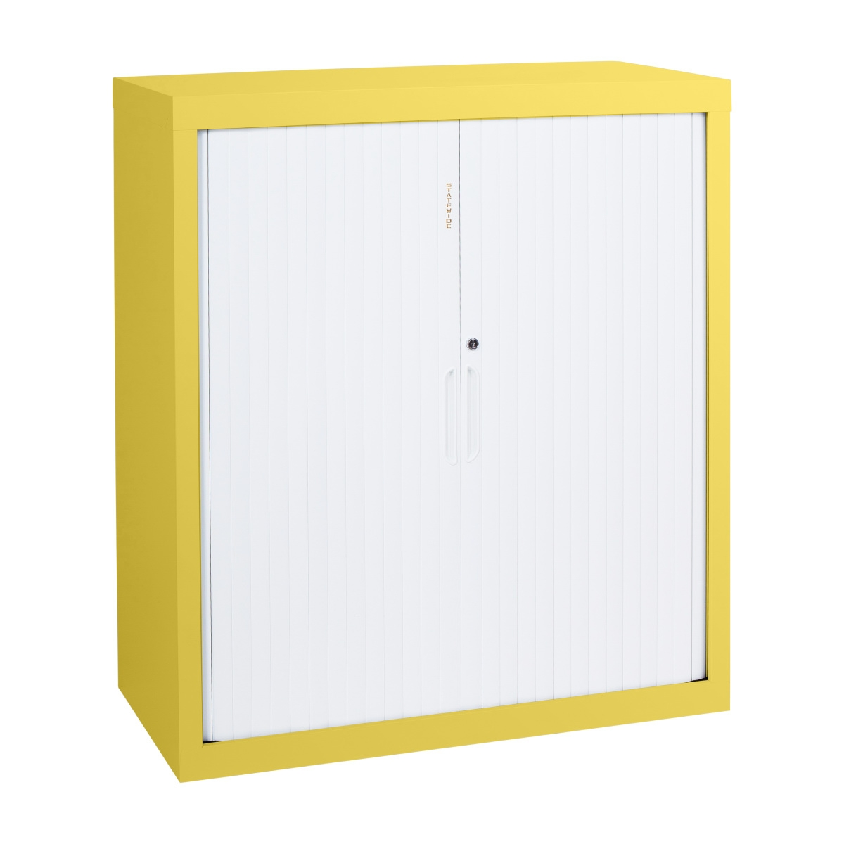 Low Height Tambour Door Cabnet