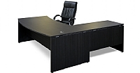 Silhouette Crescent Executive Desk