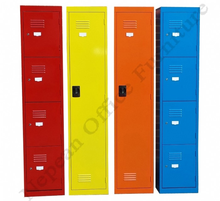 Multi Coloured Lockers