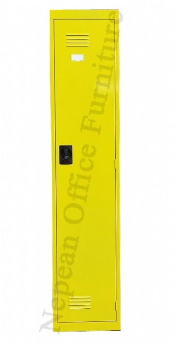 Colourful Single Door Lockers
