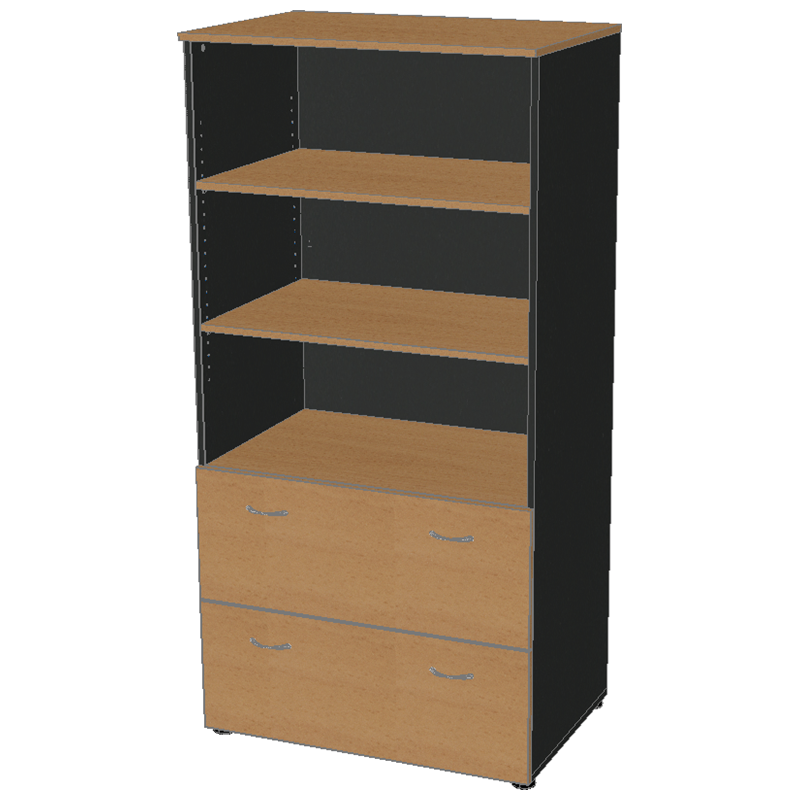 Stationery Cabinet with Lateral Drawers