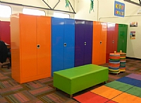 Coloured Metal Cabinets