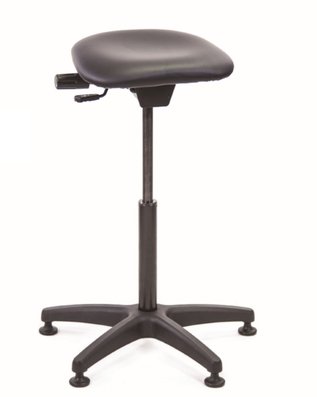 Vinyl Sit Stand Stool With 265mm Gas Lift