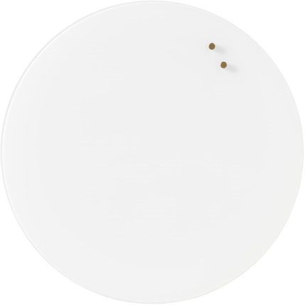 White Magnetic Large Round Board