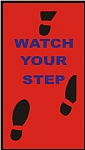 Watch Your Step Mat