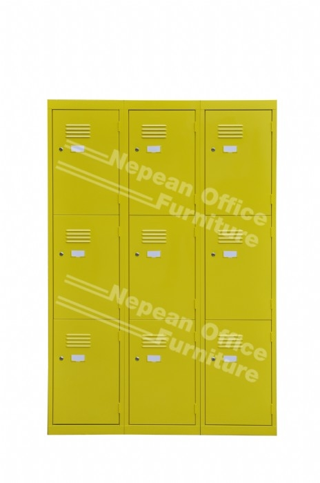 Coloured School Lockers