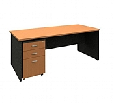 Desk and Mobile Drawer Unit