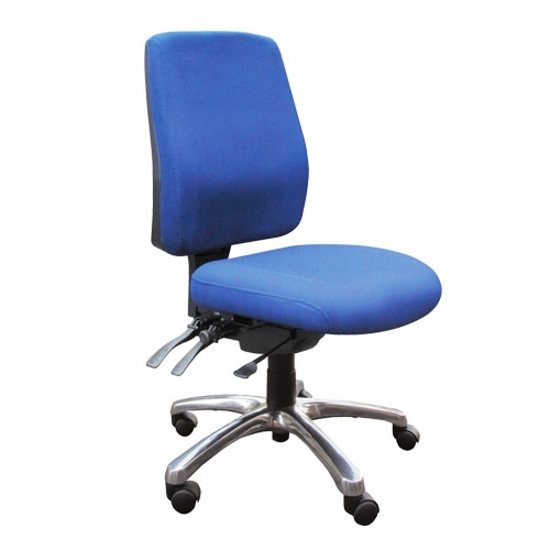 Alpha Heavy Duty Chair No Arms