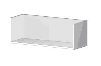 Wall Mounted Bookcase Shelf
