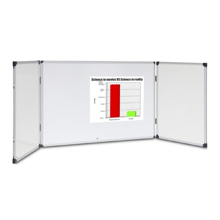Standard Cabinet Whiteboard Lockable