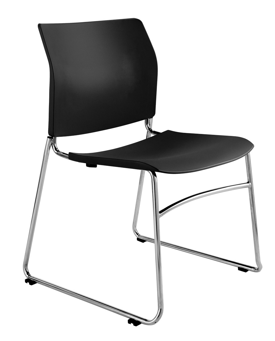 CS One Sled Plastic Chair