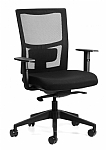 Express Team Sync Mesh Back Chair with Arms