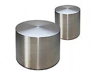 Drum Coffee Table Stainless Steel
