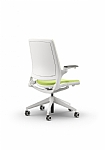 White Selfie Chair with Arms